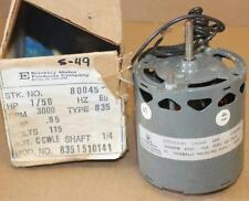 "Brinkley Motor 80045 1/50 HP 3000 RPM 115V  CCWLE 1/4"" Shaft Type 835"