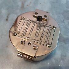 Antique Brass Vintage Brunton Compass Collectible Gift