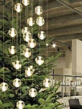 Svitz Led crystal ball chandelier ceiling light Large church G4 Led hang fixture