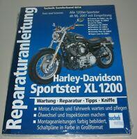 Reparaturanleitung Harley Davidson Sportster XL 1200 Wartung Reparatur Buch NEU!