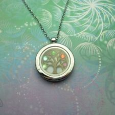 Tree of Life Glass Fashion Necklaces & Pendants