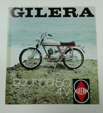 Prospectus Catalogue Brochure Moto Gilera Touring 50 1973