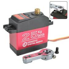 DS3218PRO 25kg HighSpeed 0.09S/60° 180° Waterproof Metal Gear Digital RC Servo