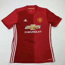 Manchester United Zlatan Ibrahimović 9 Adidas Climacool Unisex Jersey Red M New