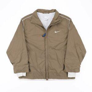 NIKE  Green 00s Nylon Casual Outdoor Jacket Boys M