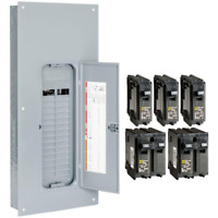 Indoor Square-D 225-Amp 30-Space 60-Circuit Home Main-Breaker Load Panel Box New