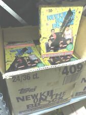 New Kids On The Block 1989 Topps Lot Of 3 Wax Pack Box 108 Packs Free Ship!