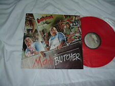 DESTRUCTION Mad Butcher '87 cult GERMAN Thrash ORIGINAL RED vinyl MINT-