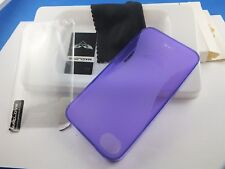 Maclove back cover Sunrise Purple para iPhone 4 4s inc antireflex display diapositiva