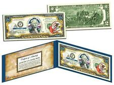 ILLINOIS Statehood $2 Two-Dollar Colorized U.S. Bill IL State *Legal Tender*