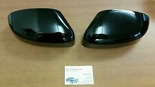FORD FOCUS ST 3 RS MK2 FACELIFT NEW GLOSS BLACK WING MIRROR COVER SET 08 - 11
