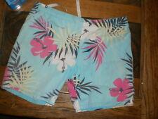 Vintage unisex Hawaiian/Magnum style shorts, men's M, woman's L