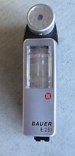 Vintage Bauer E 251 Electronic Camera Flash  LOOK
