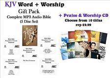 KJV Word+Worship Gift Pack (5 CDs) - KJV MP3 Audio Bible+CD: Only £6.99!! WOW!!