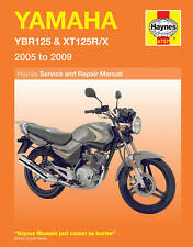 NEW HAYNES MANUAL FOR YAMAHA YBR125 & XT125