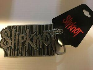 Brand New 2005 SLIPKNOT rectangle Belt Buckle