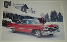 1959 Imperial Southampton 2 dr ht car print (red)