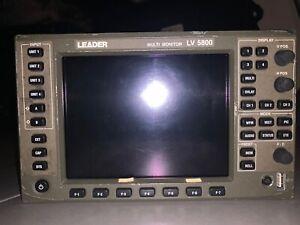 Leader 5800 Waveform Monitor