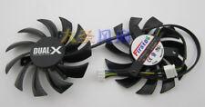 2PCS Zafiro HD7850 1G 2G Edición Platino gráficos de doble ventilador Temperatura correcto