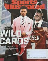 Sports Illustrated May 6, 2019 Wild Cards Why Kyler Murray in Ari. & Josh Rosen
