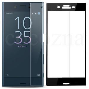 3D Full Cover Screen Protector Tempered Glass For Sony Xperia XZ XZ1 XZ2 XA1 XA2