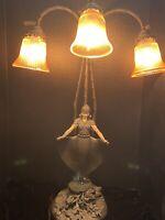 Vintage August Moreau Art Deco/Art Nouveau Table Lamp
