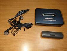 Panasonic Walkman RQ-SX15 Cassette Player Black s1765