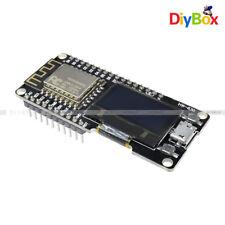 "Wifi ESP8266 ESP-12F CP2102 Micro Usb Placa De Desarrollo nodemcu wemos +0.96"" OLED"