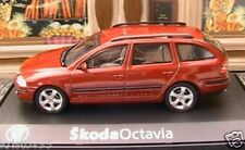 SKODA OCTAVIA COMBI TDI RED FLAMENCO ABREX 1/43 CESKA REPUBLIQUE TCHEQUE CAR