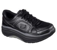 Skechers Work черные туфли женские пена с эффектом памяти нескользящий рокер комфорт 77218