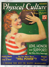 Nov 1934 Physical Culture Magazine Woman Basketball Player Health Beauty Fitness
