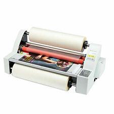 New V480 Laminator Hot Double Side Roll Laminating Machine 4 Rollers 110v220v