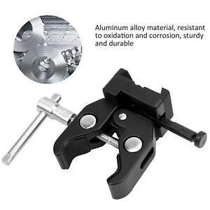 Portable Camera V-Mount Battery Holder Maximum Load 2.6lb Aluminum Alloy Black