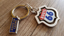 Route 66 Casino Spinning Metal Keychain Souvenir