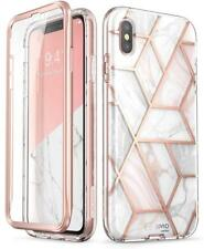 For Apple iPhone X / iPhone XS, i-Blason Stylish Bumper Case +Screen Phone Cover