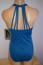 NWT Magic Suit Swimsuit Bikini One 1 piece Ocean Blue Sz 10