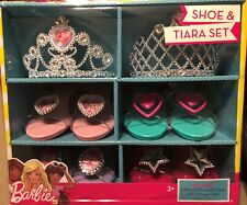 Barbie Shoe & Tiara Set With Storage Case 3+ years