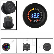 DC 12V LED Panel Digital Voltage Socket Meter Gauge Voltmeter Car Motorcycle