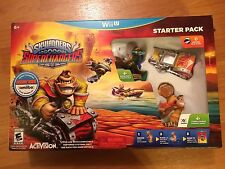 NEW IN BOX SKYLANDER SUPERCHARGERS STARTER PACK FOR WII U