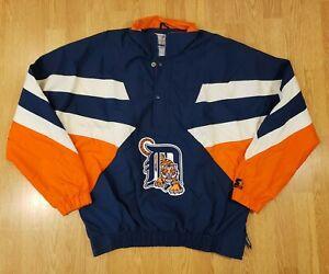 Vintage Detroit Tigers Starter Jacket Eminem Detroit Tigers Mens Size Large NEW