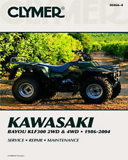 KAWASAKI BAYOU 300 2X4, 4X4 86-04 OWNERS REPAIR SHOP SERVICE MANUAL