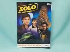Topps Han Solo a star wars story album album de scrapbooking LEERALBUM Sticker