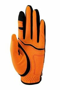 NEW Zero Friction Junior LEFT Golf Glove - ORANGE OSFM