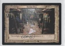 2003 The Lord of the Rings TCG: Return King #7U330 Edoras Hall Gaming Card 0q0