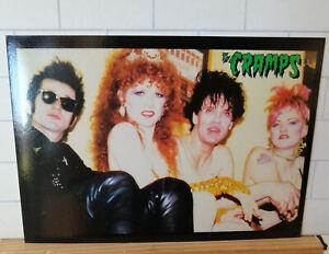 Vintage original THE CRAMPS postcard - Band Shot - Cult Images London - PC 14
