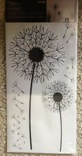 Dandelion (Large) Wall Sticker With Jewels By Home Decor (58cm X 30cm)