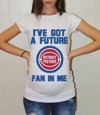 Detroit Pistons Baby Pistons Maternity Shirt Baby Shower Pregnancy Reveal