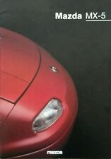 Mazda MX5  Sales Brochure - March 1997