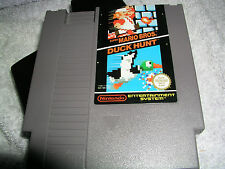 Nintendo NES SUPER MARIO BROS DUCK HUNT GIOCO carrello PAL