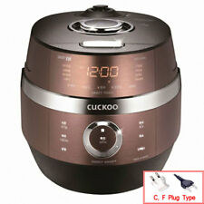 Cuckoo CRP-JHI1030FG Iot Electric Pressure Rice Cooker 220V Steamer 10 Servings